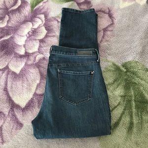 DKNY Dark Wash High Rise Stretch Jeans
